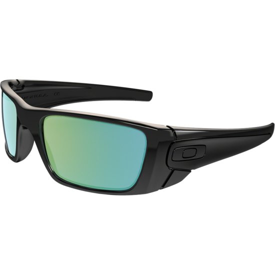 Óculos de sol OAKLEY Fuel Cell Polished Black Ink   Emerald Iridium ... d9f8e969cd