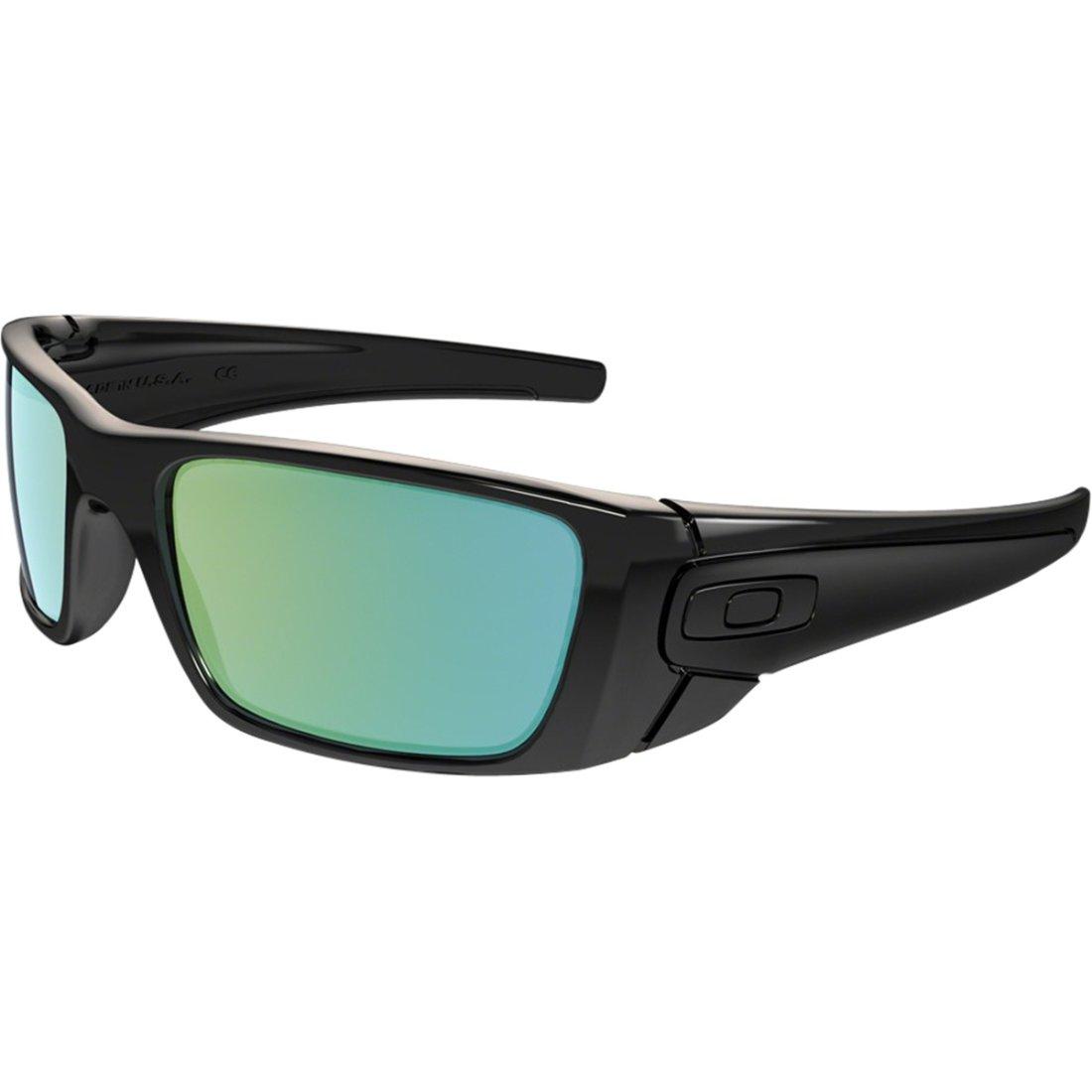 e438d8a67653f Gafas de sol OAKLEY Fuel Cell Polished Black Ink   Emerald Iridium ·  Motocard