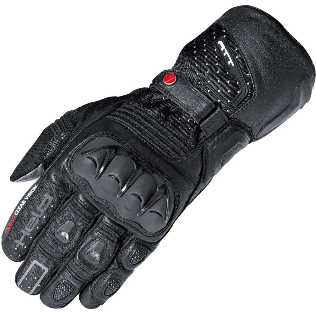 55e132d269f178 HELD Air N Dry Gore-Tex Black Gloves · Motocard