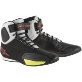 ALPINESTARS Faster Vented Black / White / Red / Yellow fluo