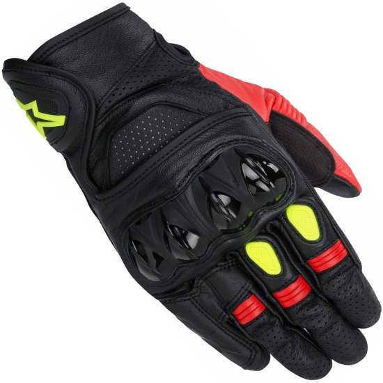 Guantes ALPINESTARS Celer Black / Red / Yellow Fluo