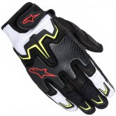 ALPINESTARS Fighter Air Black / White / Yellow Fluo / Red