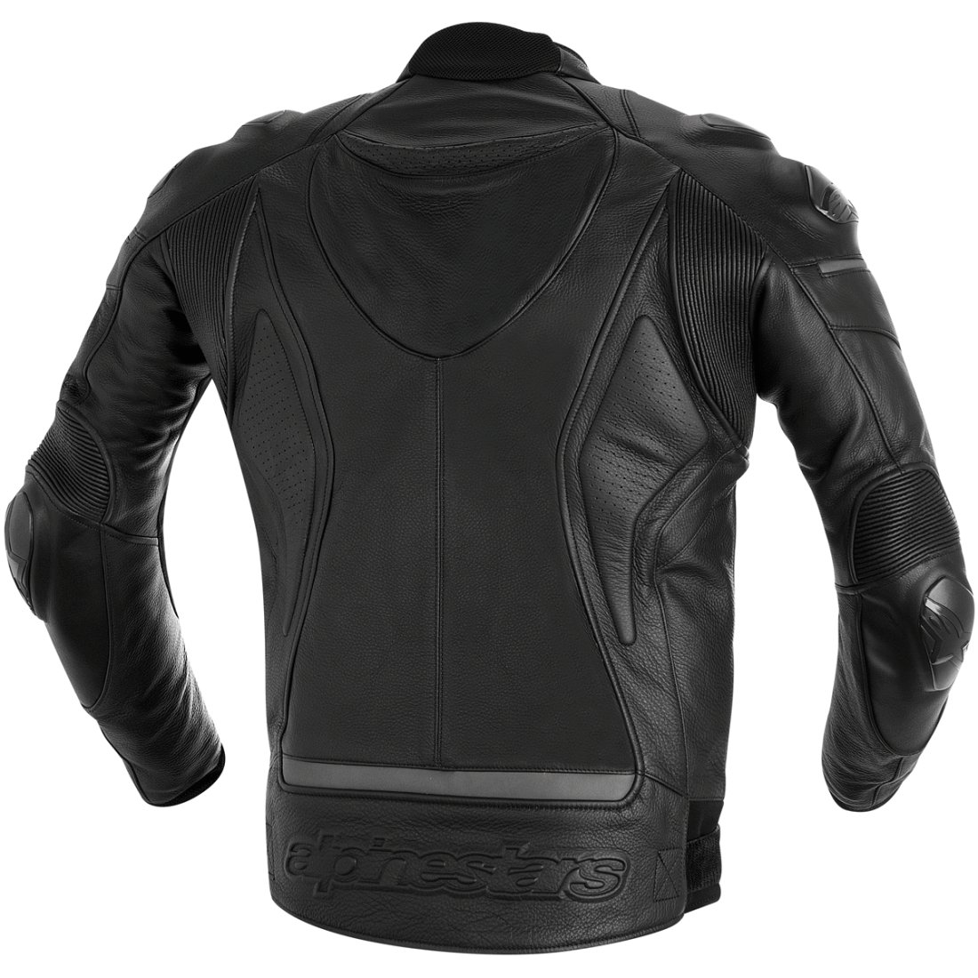 Alpinestars Leather Jacket >> Alpinestars Black Shadow Phantom Black Jacket