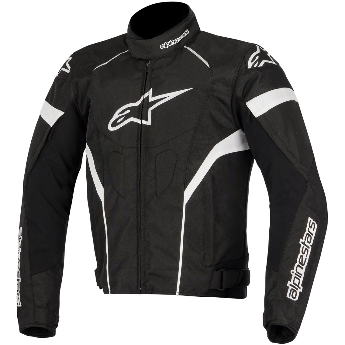 blouson alpinestars t gp plus r black white motocard. Black Bedroom Furniture Sets. Home Design Ideas