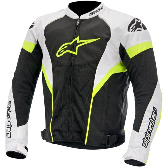Chaqueta ALPINESTARS T-GP Plus R Air Black / White / Yellow Fluo
