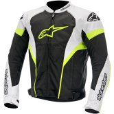 ALPINESTARS T-GP Plus R Air Black / White / Yellow Fluo