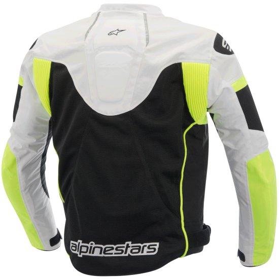 Giacca ALPINESTARS T-GP Plus R Air Black / White / Yellow Fluo
