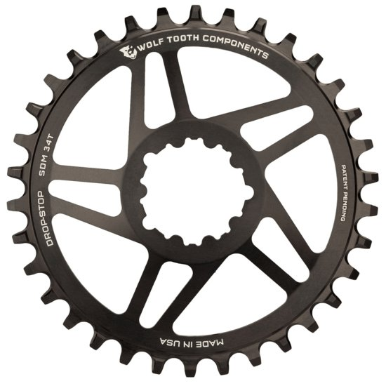 WOLFTOOTH SDM 26T SRAM Direct Mount BB30 Black Drivetrain
