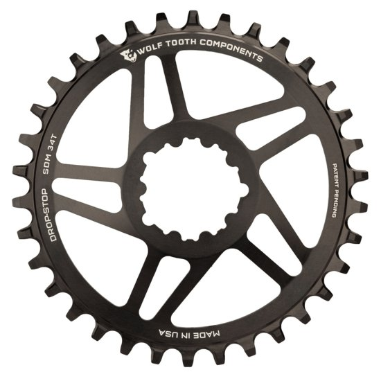 WOLFTOOTH SDM 32T SRAM Direct Mount BB30 Black Drivetrain