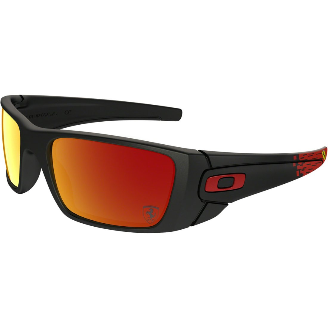 Ruby Matte Cell Gafas Oakley Sol Black Iridium Scuderia De Ferrari Collection Fuel JcFTK1l