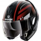 SHARK EvoLine Series3 Corvus Black / White / Red