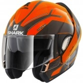 SHARK EvoLine Series3 Hataum Hi-Vis Orange / Black / Anthracite