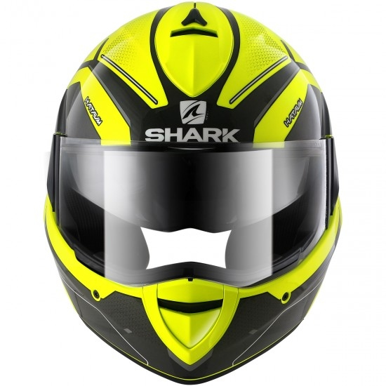 SHARK EvoLine Series3 Hataum Hi-Vis Yellow / Black / Anthracite Helmet