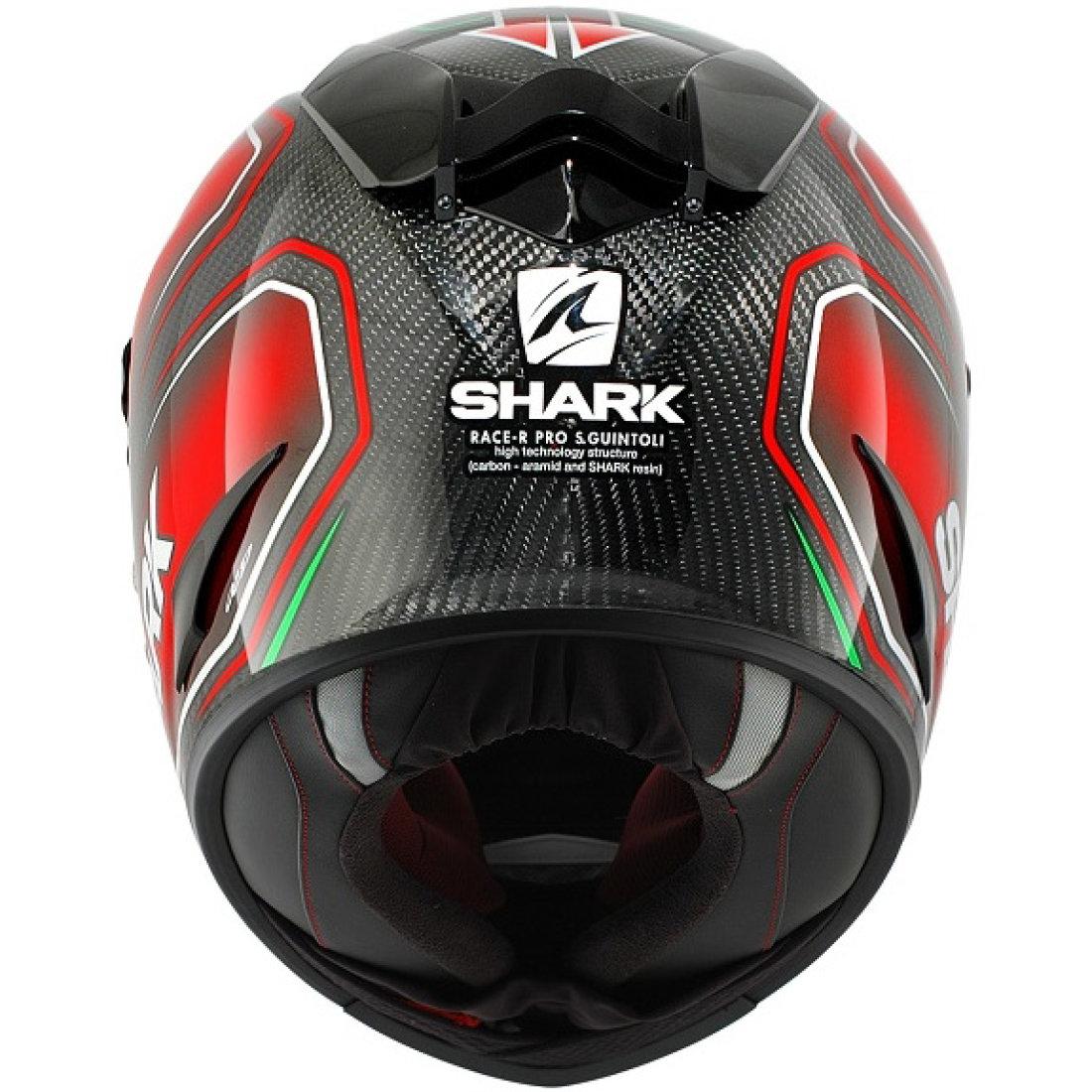 casque shark race r pro carbon guintoli n r v motocard. Black Bedroom Furniture Sets. Home Design Ideas
