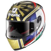 SHARK Race-R Pro Carbon Replica Zarco World Champion Carbon / Gold / White