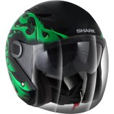 SHARK RSJ 3 Hotspur Black / Green / Silver