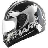 SHARK S600 Exit Pinlock N / Chrome / BL