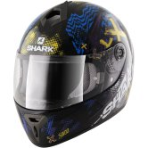 SHARK S600 Play Pinlock Black / Yellow / Blue