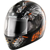 SHARK S600 Poonky Pinlock Black / Orange / Anthracite
