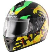 SHARK S600 Volt Pinlock Black / Green / Yellow