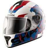 SHARK S600 Volt Pinlock White / Blue / Red