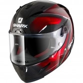 SHARK Race-R Pro Carbon Deager Carbon / Chrom / Red