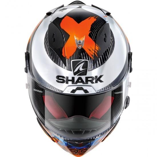 Casco SHARK Race-R Pro Carbon Replica Lorenzo 2019 Carbon / Blue / Red