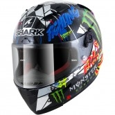 SHARK Race-R Pro Carbon Replica Lorenzo Catalunya GP Carbon / Chrom / Green