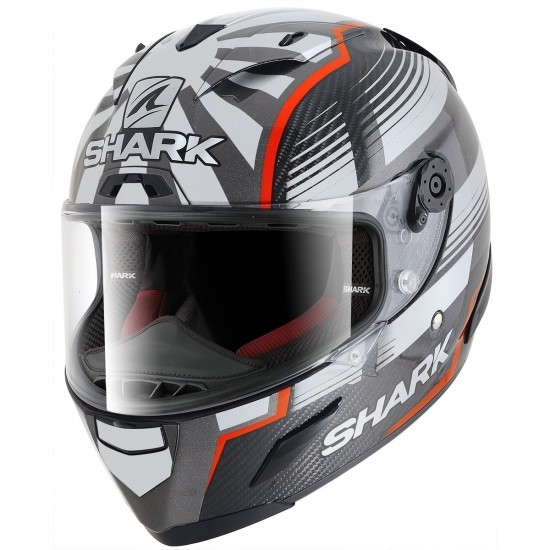 Casco SHARK Race-R Pro Carbon Replica Zarco Malaysian GP Carbon / Red / Anthracite