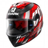 Race-R Pro Carbon Replica Zarco Speedblock Carbon / Red / White