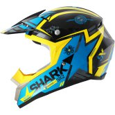 SHARK SX2 Wacken Black / Blue / Yellow