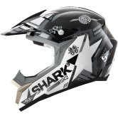 SHARK SX2 Wacken Black / White / Anthracite