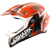 SHARK SX2 Wacken Orange / Black / White