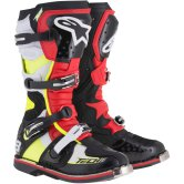 ALPINESTARS Tech 8 RS Black / Red / Yellow Fluo