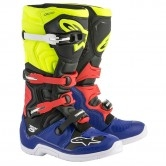 ALPINESTARS Tech 5 Blue / Black / Yellow Fluo / Red