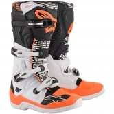 Tech 5 White / Black / Orange Fluo