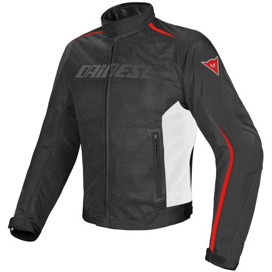 Jacke DAINESE Hydra Flux D-Dry Black / White / Red