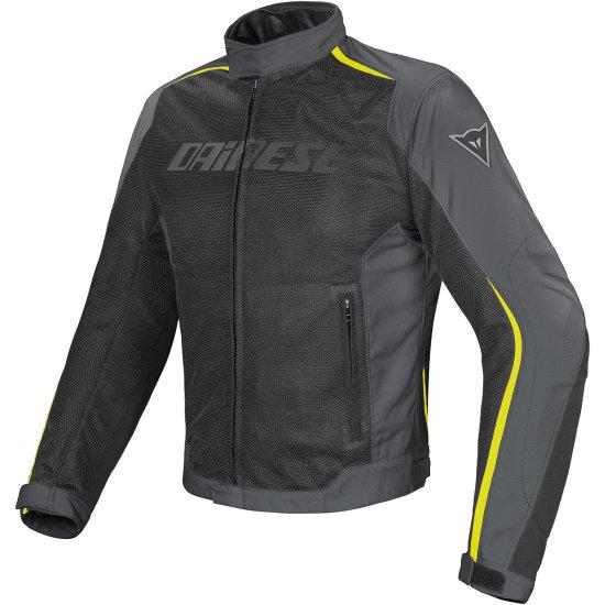 DAINESE Hydra Flux D-Dry Black / Dark Gull Gray / Yellow Fluo Jacket