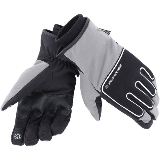 Gants DAINESE Plaza D-Dry Black / Anthracite