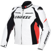 DAINESE Racing D1 White / Black / Fluo-Red
