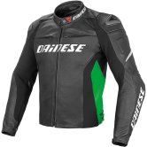 DAINESE Racing D1 Black / Fluo-Green / White