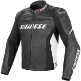 DAINESE Racing D1 Black / White