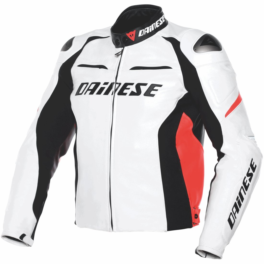 Chaqueta Dainese Racing D1 Estiva White Black Red