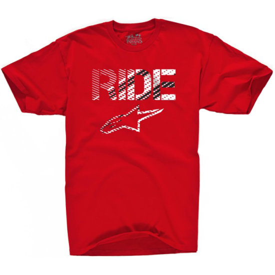 Camiseta ALPINESTARS Crosshatch Red
