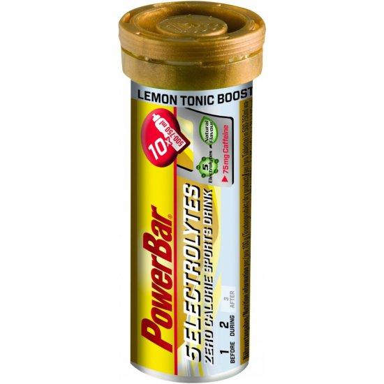 Nutrition POWERBAR 5 Electrolytes Lemon Tonic Boost