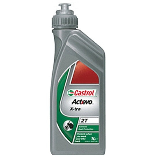 CASTROL ACT>EVO X-TRA 2T 1L Oil and spray