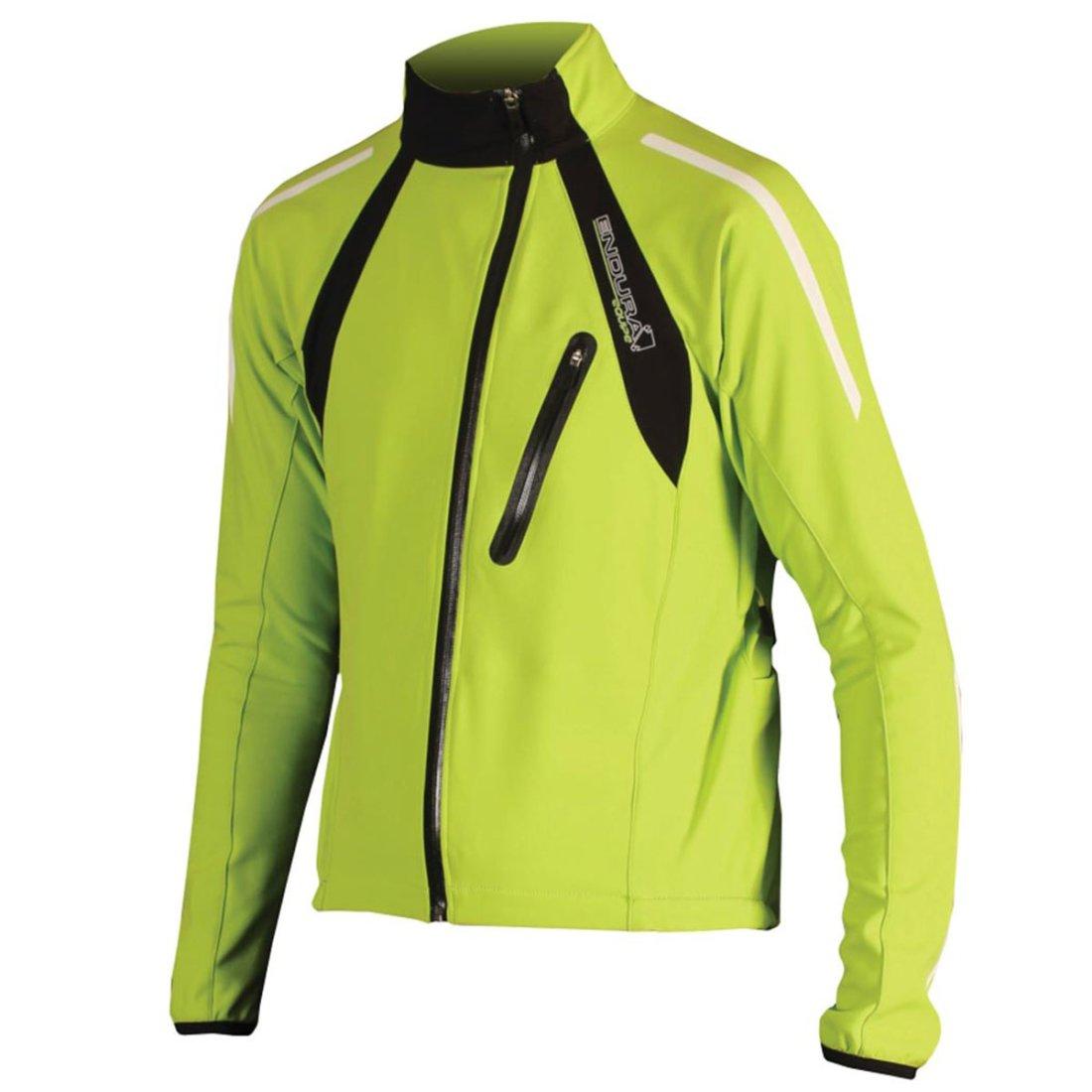 gran ajuste mejor servicio cómo hacer pedidos Chaqueta ENDURA Equipe Thermo Windshield Lime Green
