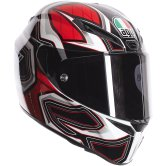 AGV GT Veloce Gravity White / Black / Red