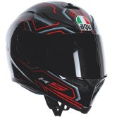 AGV K-5 Deep Black / White / Red