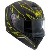 AGV K-5 Hero Black / Yellow Fluo